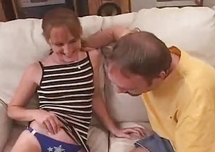 Sweet Southern Red Head Wife Fucked By Ribald D