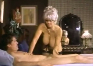 There're ergo many amazing things going on in this vintage porn video