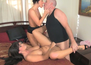 India Summer and Alison Tyler get banged by Mark Davis