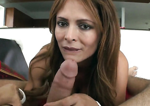 Monique Fuentes gave him an awesome blowjob