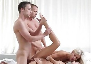 Distractedly hot group sex compilation