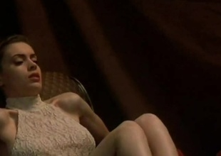 Alyssa Milano undressed - Poison Ivy pair (1996)