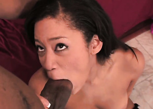 Jayla Starr enjoys interracial hard sex with her fuck buddy too influentially to stop