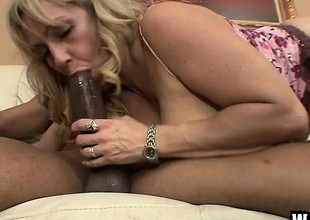 Chubby MILF Wanda can at no time get barely acceptable of a black meat ravaging