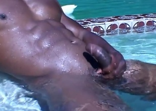Bald, Negroid and beautiful, is the only way to describe this horny hunk. JR Langdon interview.