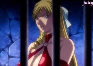Anime chap fucks busty blonde