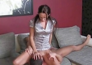 Czech Stud can't control his cock and creampies sweet MILF agents slit