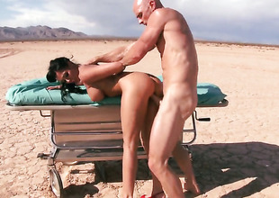 Johnny Sins sticks his meat wraparound magically sexy Rachel Starrs mouth
