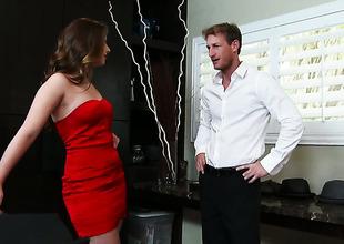 Ryan Mclane gets pleasure from fucking sexy bodied Jillian Jansons love tunnel