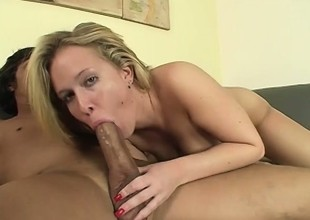 Sexy anal whore takes every inch of a large dick up her sphincter