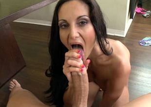 Milf is getting her wet pussy pounded on the pool table with balls