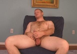 Ginger gay gets oral stimulation