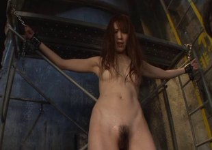 Dungeon pleasures and big sticky facials with a Japanese belle