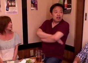 Cum loving Japanese cutie loves shlong and the semen they produce
