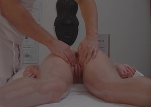Czech Massage Young Tight Girl Gets Importantly More Than Massage