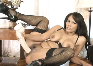 Anjanette Astoria has a great desire for pussy pounding