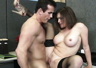 Exotic Krissy Lynn with moist ass and bald muff cant live a day out of getting fucked by hot guy Talon