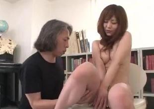 Miku Airi gets to fuck her teacher at class