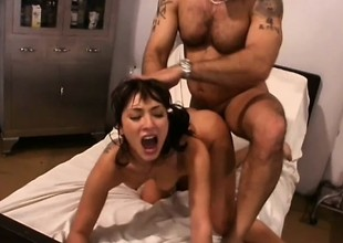 Kinky doctor Stephen St Croix administers his big dick to Roxy Jezel
