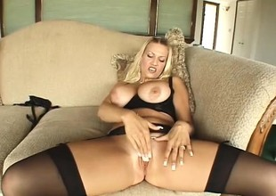 Big-breasted mart broad with a gorgeous butt gets fucked hard