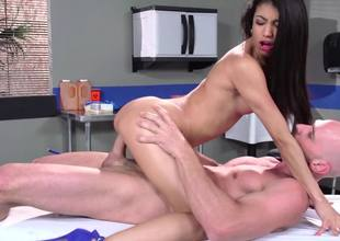 Veronica Rodriguez visits the doctor for good sex