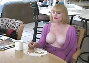Taboo first meeting and Mommy found my porn