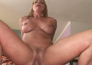Alluring blonde hoe Shayla LaVeaux gets her muff hammered well