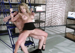 Sexy Secretary fucked by a thick dick