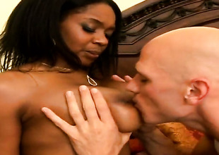 Johnny Sins attacks lustful Baby CakesS mouth with his love torpedo