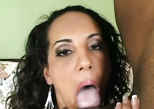 Victoria Allure takes dudes tool doggystyle in interracial hardcore action