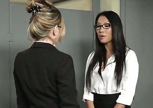 Asa Akira porno is smth that is watched quite a lot. Here she's getting her experienced dripping wet beaver smashed by a raging, thick, pulsating white dong in the office