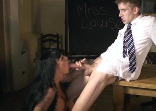 Kerry Louise experiences hardcore sex with a huge cock