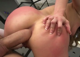 Kinky golden-haired loves coarse sex and that is the reason she loves anal