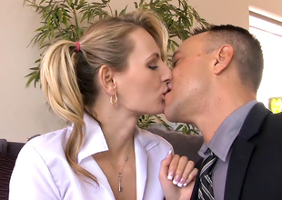 Natasha Starr in Don't Tell My Wife I Fucked into ass The Babysitter 13