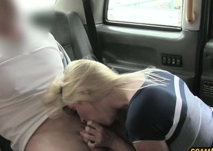 Gorgeous tits blonde hotty gets banged