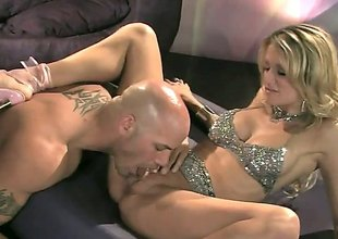 Golden-haired vixen with incredible bazooms, Jessica Drake is a freak when it comes to missionary. She gets her beaver eaten up previous to that babe gets banged in that missionary position that babe can't live without ergo much