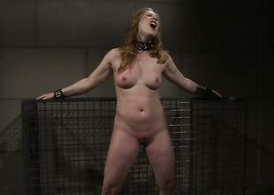 Redhead Laurah having sensual sex with hawt guy